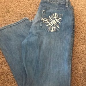 Women's A.N.A light wash Bootcut Jeans